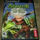 Arthur and the Invisibles (Sony PlayStation 2, 2007) PS2 Complete CIB