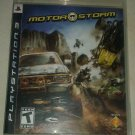 MotorStorm (Sony PlayStation 3) With Manual CIB Tested PS3