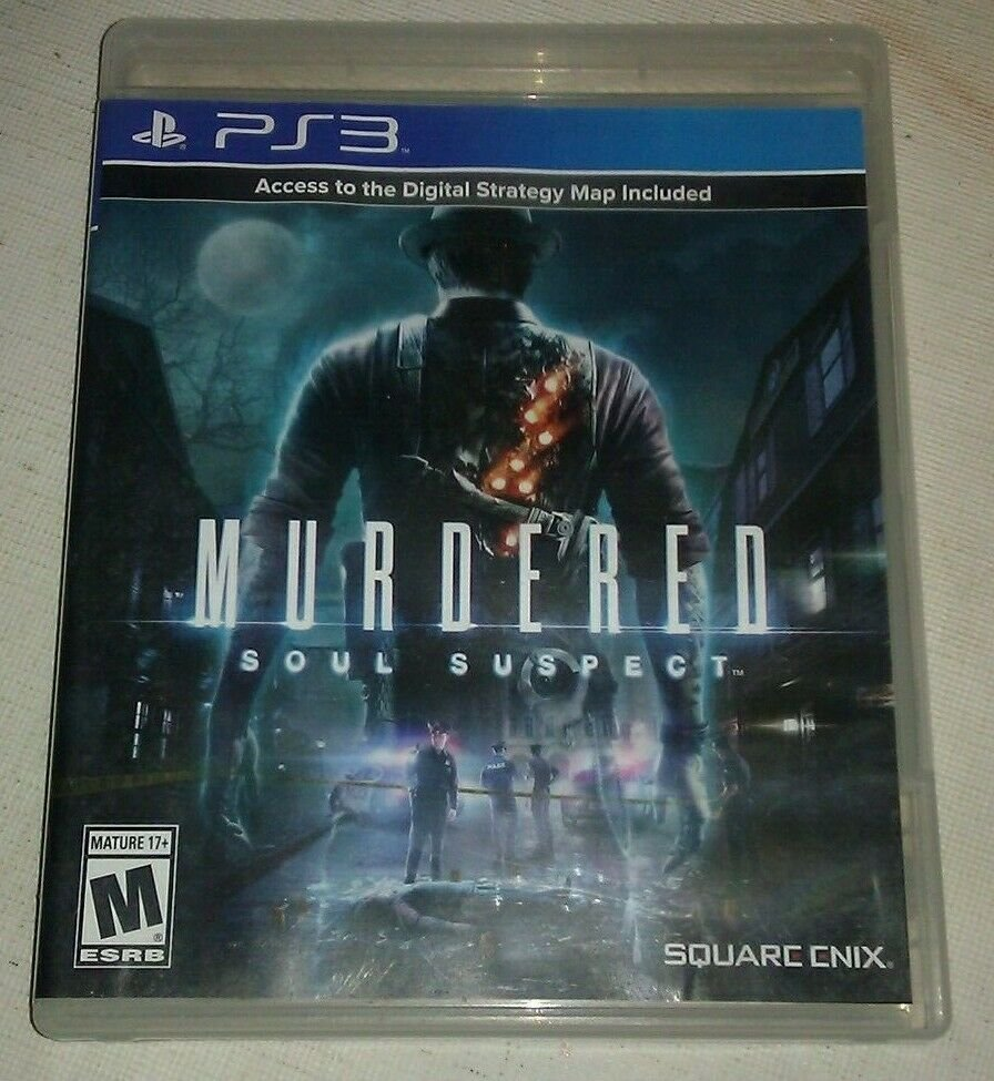 Murdered: Soul Suspect (Sony PlayStation 3, 2014) Tested PS3