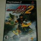 ATV Offroad Fury 2 (Sony PlayStation 2, 2002) PS2 CIB Complete