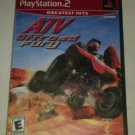 ATV Offroad Fury Greatest Hits (Sony PlayStation 2) Complete W Manual CIB PS2