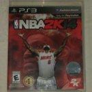 NBA 2K14 Basketball (Sony PlayStation 3, 2013) PS3