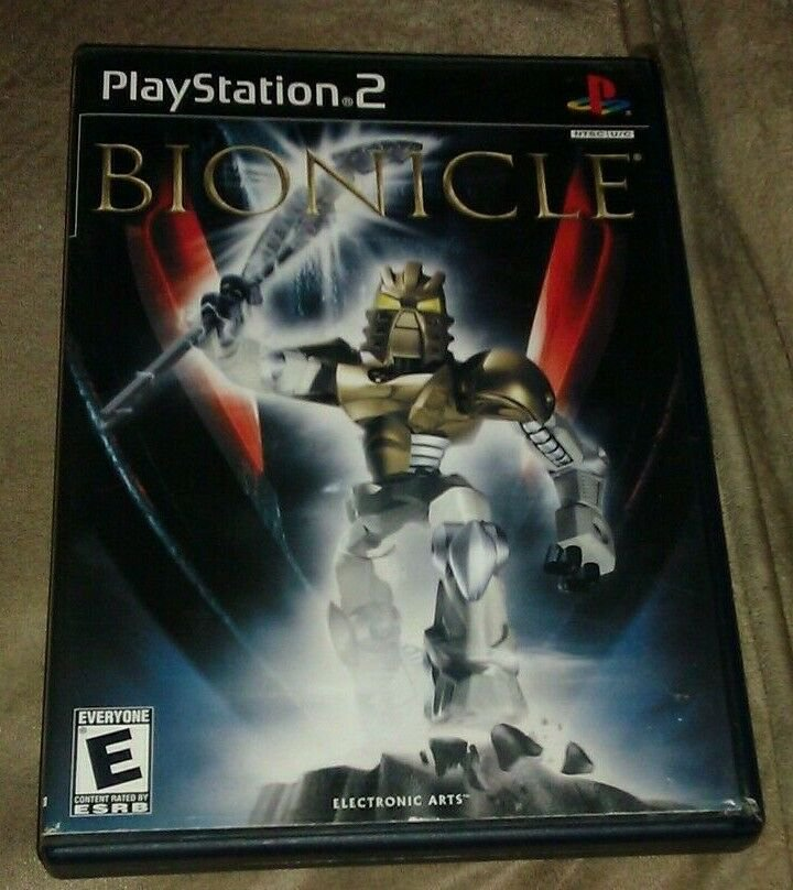 Bionicle (Sony PlayStation 2, 2003) PS2 Complete CIB
