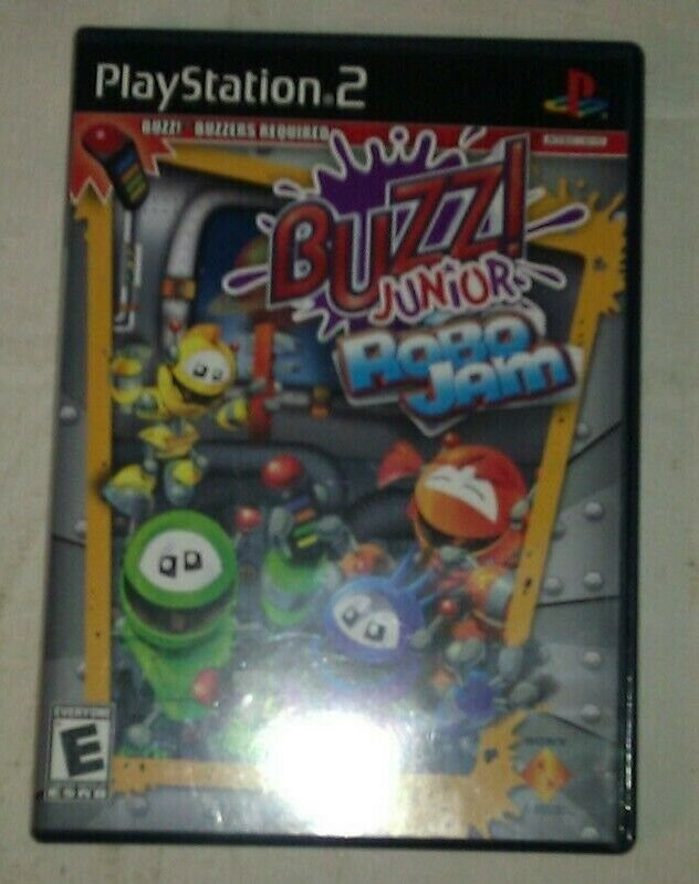 Buzz! Junior: Robo Jam (game only) (Sony PlayStation 2, 2008) PS2