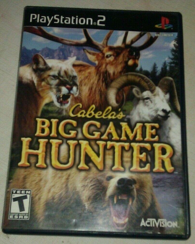 Cabela's Big Game Hunter (Sony PlayStation 2) PS2