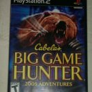Cabela's Big Game Hunter: 2005 Adventures (Sony PlayStation 2, 2004) PS2 CIB