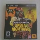 Red Dead Redemption: Undead Nightmare Sony PlayStation 3 PS3 CIB Complete Tested