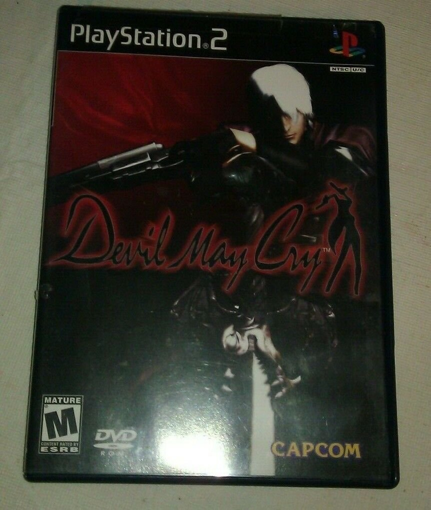 Devil May Cry (Sony PlayStation 2, 2002) Complete with Manual CIB PS2