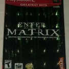 Enter the Matrix Greatest Hits (Sony PlayStation 2, 2003) PS2 CIB Complete