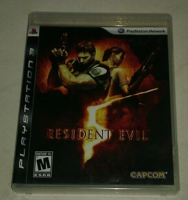 Resident Evil 5 (Sony PlayStation 3, 2009) PS3 Complete CIP CIB Tested