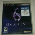 Resident Evil 6 (Sony PlayStation 3, 2012) PS3 CIB CIP Complete Tested