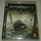 Resistance Fall of Man (Sony PlayStation 3, 2006) With Manual PS3 Tested