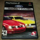 Ford Mustang: The Legend Lives (Sony PlayStation 2, 2005) PS2 Complete CIB