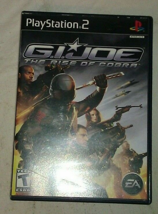G.I. Joe: The Rise of Cobra (Sony PlayStation 2, 2009) PS2 CIB CIP
