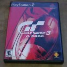 Gran Turismo 3 A-spec Video Game - PlayStation 2, 2006 PS2 CIB Complete