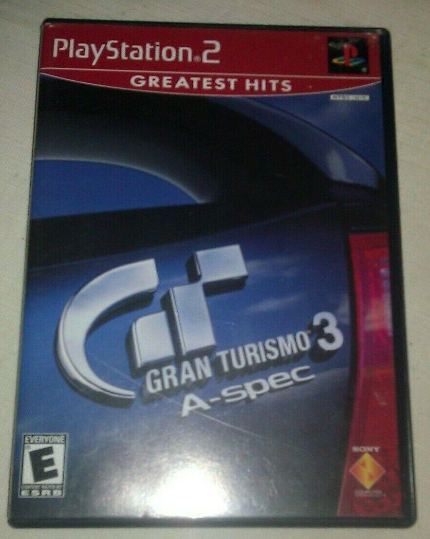 Gran Turismo 3 A-spec Video Game Greatest Hits 2006 PS2 CIB Complete