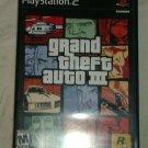 Grand Theft Auto III (Sony PlayStation 2, 2003) PS2 CIB CIP