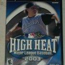 High Heat Major League Baseball 2003 (Sony PlayStation 2, 2002) PS2 CIB Complete