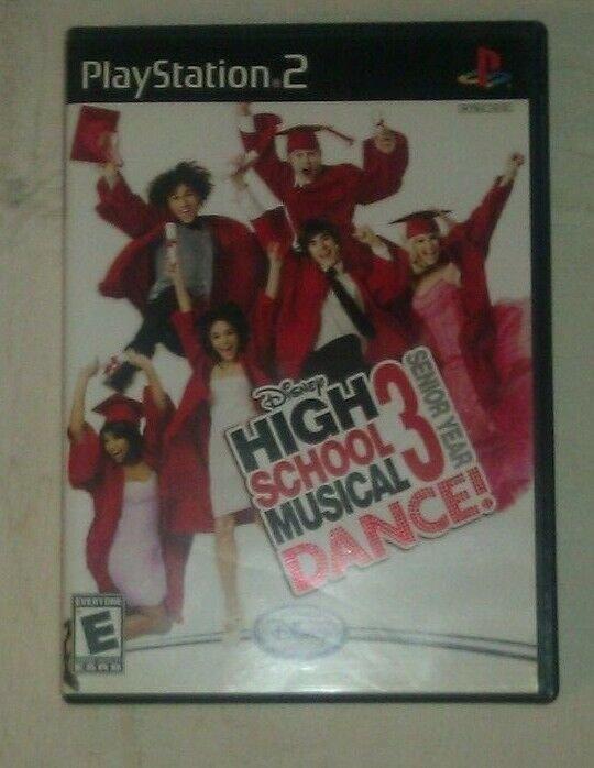 High School Musical 3: Senior Year Dance (Sony PlayStation 2 ) PS2 CIB Complete