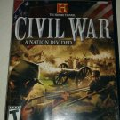 History Channel Civil War A Nation Divided (PlayStation 2 2006) Complete CIB PS2