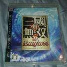 Shin Sangoku Musou 5 Empires PlayStation 3) Japan Version CIB PS3 US Seller