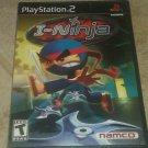 I-Ninja (Sony PlayStation 2, 2003) Complete With Manual CIB PS2