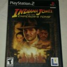 Indiana Jones and the Emperor's Tomb (Sony PlayStation 2, 2003) W Manual CIB PS2