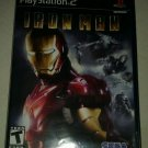 Iron Man (Sony PlayStation 2, 2008) Complete W/ Manual CIB Tested PS2