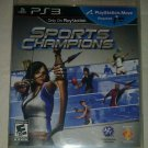 Sports Champions (Sony PlayStation 3, 2010) PS3