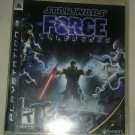 Star Wars: The Force Unleashed ( PlayStation 3, 2008) W Manual CIB Tested PS3