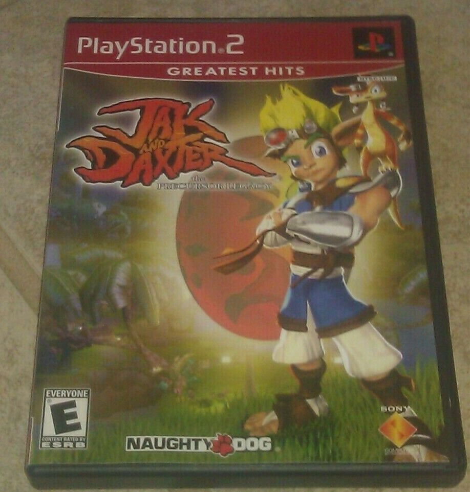 Jak and Daxter: The Precursor Legacy Greatest Hits (Sony PlayStation 2 2002) PS2