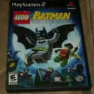LEGO Batman: The Videogame (Sony PlayStation 2, 2008) PS2 Complete CIB
