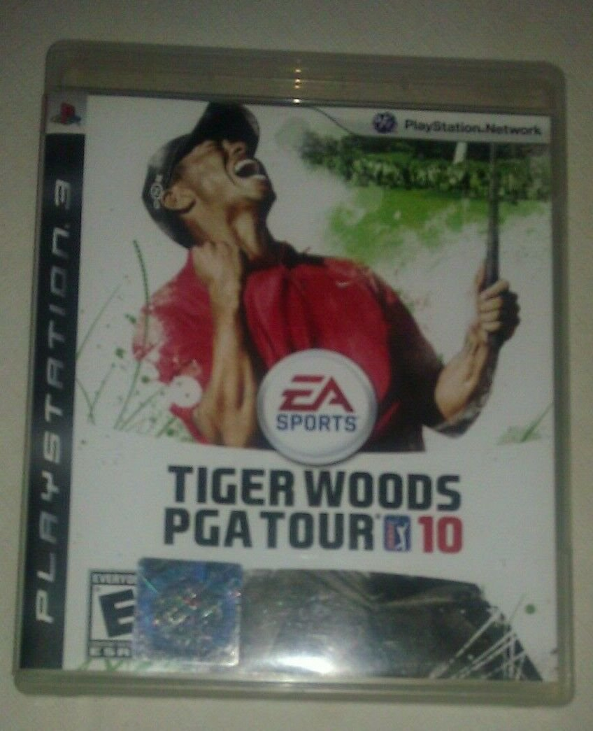 Tiger Woods PGA Tour 10 (Sony PlayStation 3, 2009) Complete With Manual CIB PS3