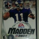 Madden NFL 2002 Football (Sony PlayStation 2, 2001) PS2 CIB Complete