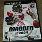 Madden NFL 2004 Football (Sony PlayStation 2, 2003) PS2 CIB Complete