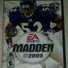 Madden NFL 2005 Football (Sony PlayStation 2, 2004) PS2 CIB Complete