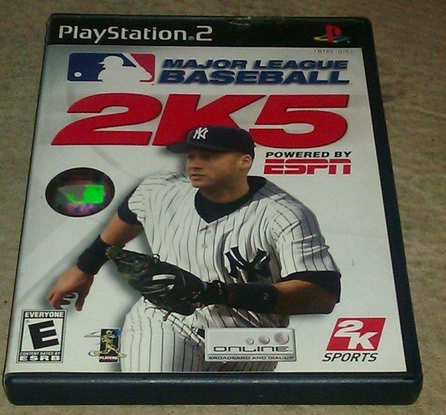 Major League Baseball 2K5 (Sony PlayStation 2, 2005) PS2 CIB Complete