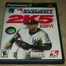 Major League Baseball 2K5 (Sony PlayStation 2, 2005) PS2 CIB Complete