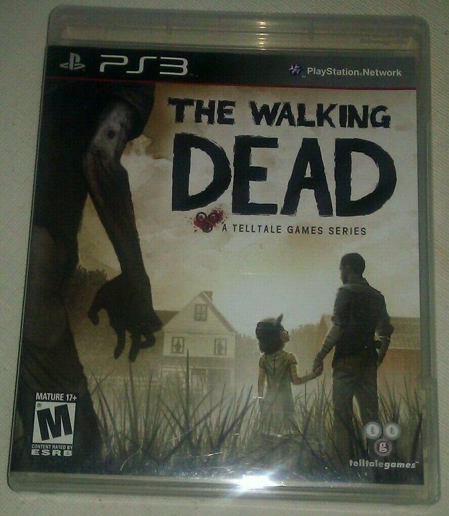 Walking Dead The Telltale Series (Sony PlayStation 3) Complete W/ Manual CIB PS3