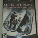 Medal of Honor: European Assault (Sony PlayStation 2, 2005) With Manual CIB PS2