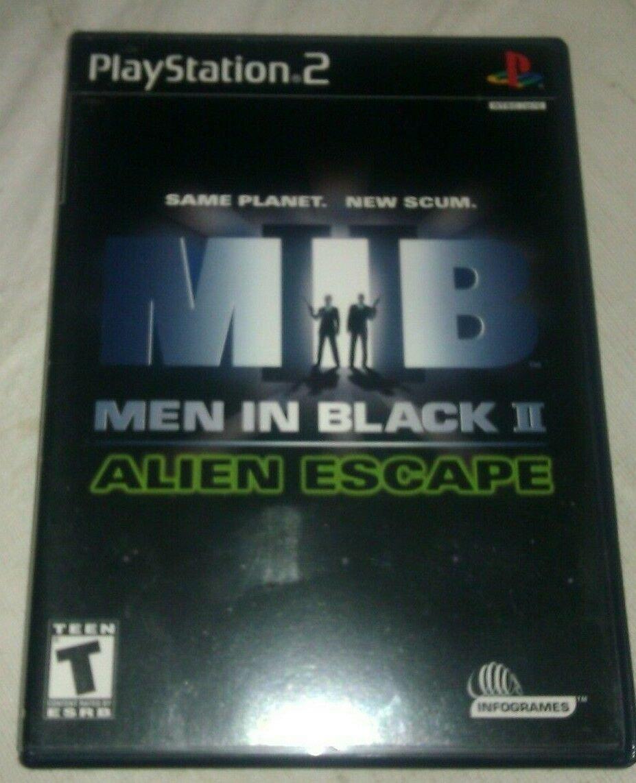 Men in Black II: Alien Escape (Sony PlayStation 2, 2002) PS2 CIP CIB