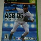 All-Star Baseball 2005 (Microsoft Xbox Original 2004) With Manual CIB Tested