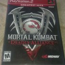Mortal Kombat: Deadly Alliance Greatest Hits (PlayStation 2) With Manual CIB PS2