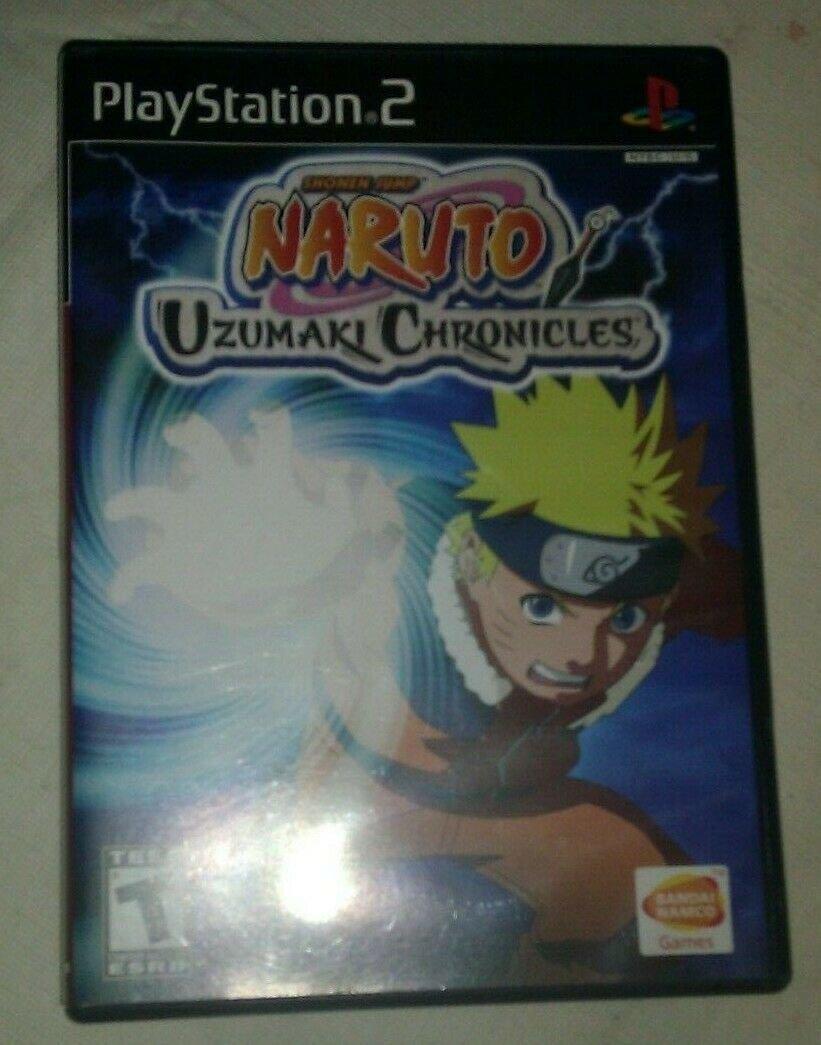 Naruto: Uzumaki Chronicles (Sony PlayStation 2, 2006) Complete W Manual CIB PS2