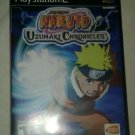 Naruto: Uzumaki Chronicles (Sony PlayStation 2, 2006) Complete W Manual CIB PS2