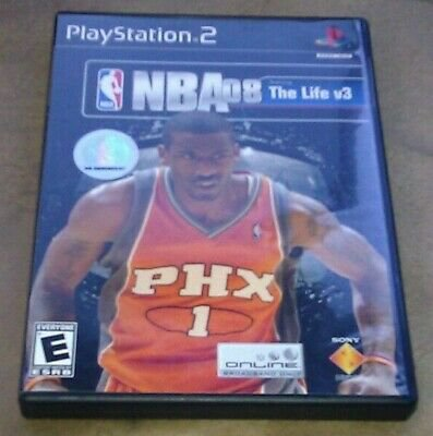NBA 08 Featuring the Life Vol. 3 (Sony PlayStation 2, 2007) PS2 CIB Complete