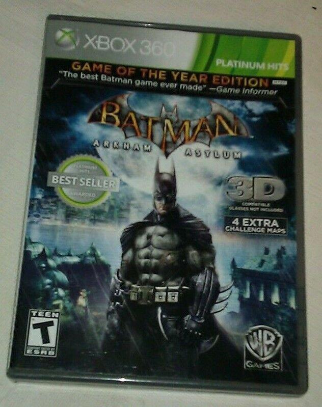 Batman: Arkham Asylum Game of the Year Edition (Microsoft Xbox 360, 2010) Tested