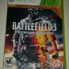 Battlefield 3 -- Premium Edition (Microsoft Xbox 360, 2012) Tested