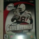 NCAA GameBreaker 2003 (Sony PlayStation 2, 2002) PS2 CIB Complete