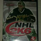 NHL 2K6 Hockey (Sony PlayStation 2, 2005) PS2 CIB Complete